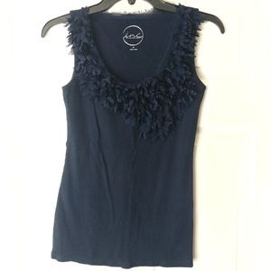 INC INTERNATIONAL CONCEPTIONS Size M Navy Tank Top